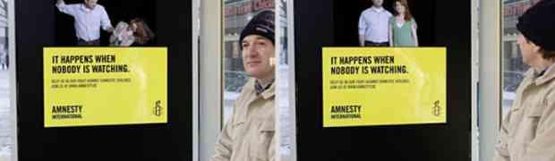 Esto pasa cuando nadie mira - Amnesty International