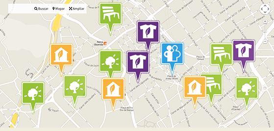 mapa sostenible